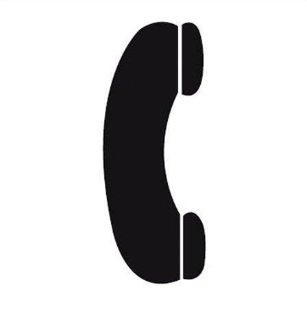 "Samolepící etiketa, ""Telefon"", APLI"