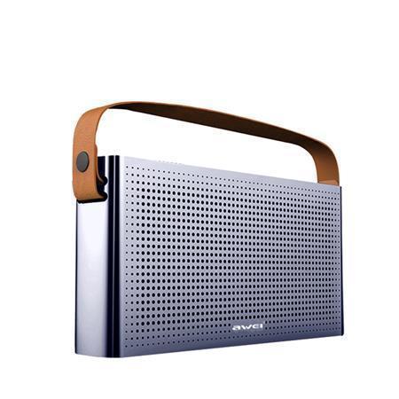 """Reproduktor """"Y300"""", šedá, přenosný, bezdrátový, Bluetooth, 2 x 5W, AWEI"""