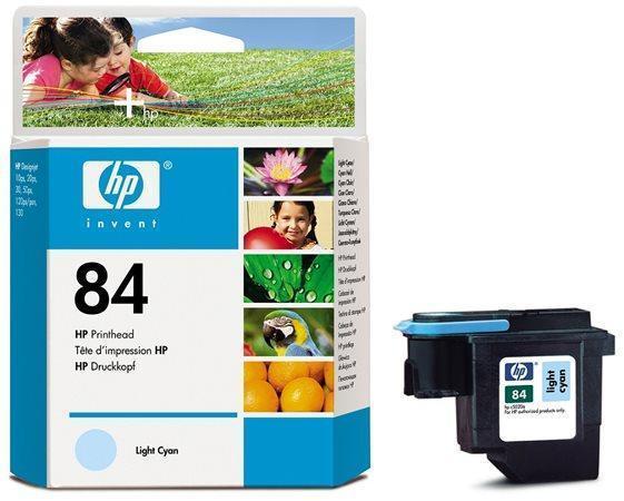 """Inkjet tisková hlava pro """"DesignJet 120, 130"""" tiskárny, HP """"Nr.84"""" Světlá Cyan"""
