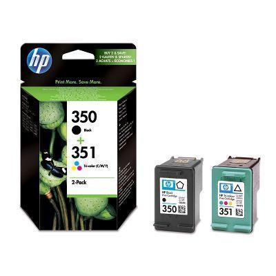 """Inkjet cart.pro multipack """"DeskJet D4260"""" tiskárnu, HP """"Nr.350/351"""" Černá, Barevná, 200+170 stran"""