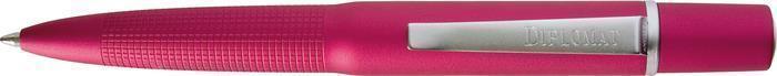 """Kuličkové pero """"Life"""", růžové tělo, 0,5mm, v dárkové krabičce, modré, DIPLOMAT"""