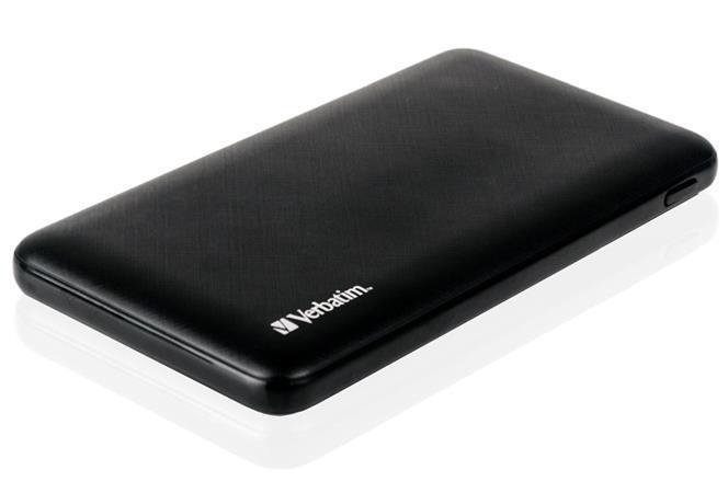 Powerbanka, černá, 10 000mAh, 2 db USB, VERBATIM