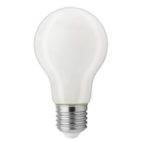 LED žárovka, E27, A60 koule, sklo, 8W, 810lm, 2700K, TUNGSRAM