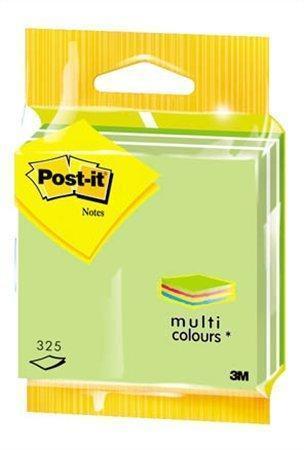 Samolepící bloček, 76x76 mm, 325 lístků, 3M POSTIT, pastelově zelený