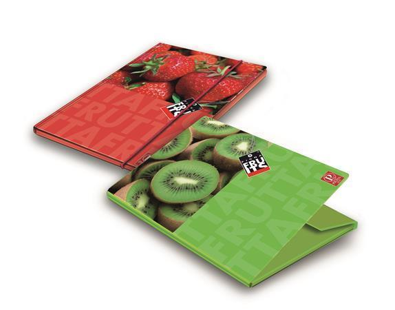 """Desky s gumičkou """"Fruits"""", karton, 12 mm, A4, PIGNA"""