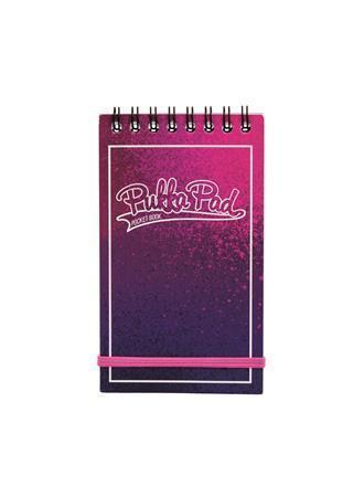 "Blok ""Bright"", A7, růžová-fialová, linkovaný, 50 listů, spirálová vazba, PUKKA PAD"