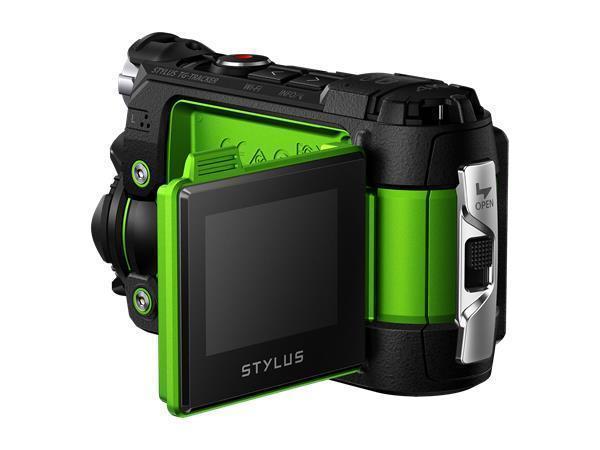 """Akční kamera, 4K, OLYMPUS """"TG-Tracker"""", zelená"""