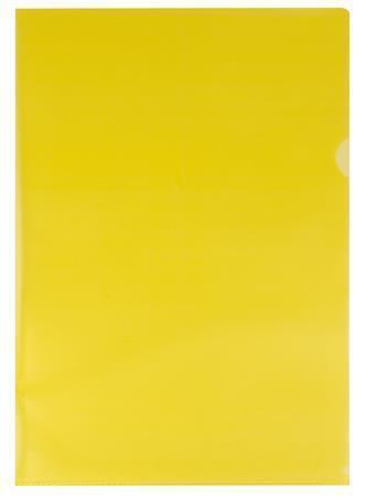 Obal, žlutý, matný, typ L, A4, 80 micron, VICTORIA