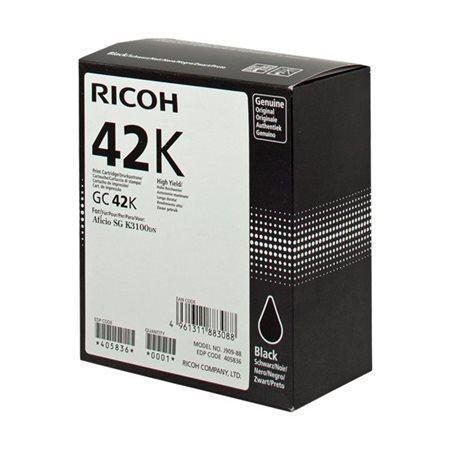 405836 gelová cartridge pror SG K3100DN tiskárnu, RICOH Typ GC41KH černá, 10tis.stran