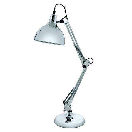 """Stolní lampa, 40 W, """"Borgillio"""", chrom, EGLO"""