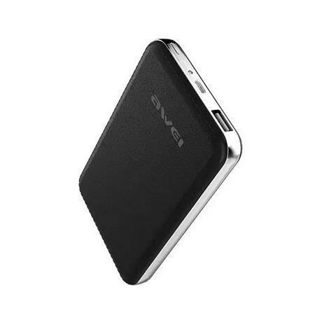 """Portable power bank """"P84K"""" - přenosná baterie, černá, 10400 mAh, AWEI"""
