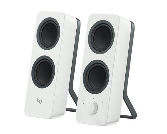 "Reproduktor ""Z207"", bílá, 5W, Bluetooth, LOGITECH"