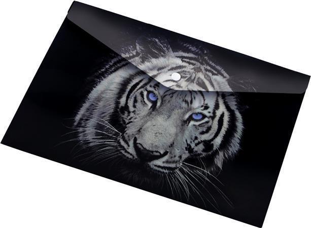 "Desky na dokumenty ""Tiger"", s drukem, A4, PP, 160 micron, PANTA PLAST"