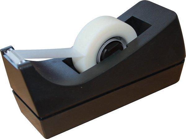 Odvíječ na lepicí pásku, černá, stolní, 5 STAR