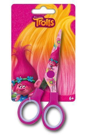 """Dětské nůžky """"Trolls"""", 13 cm, CANENCO"""