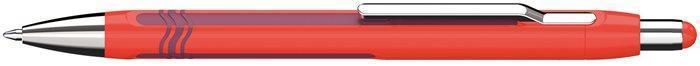 """Kuličkové pero """"Epsilon"""", bordo-červená, 0,7mm, stiskací mechanismus, SCHNEIDER"""