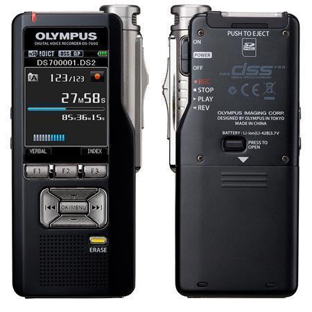 "Diktafon, digitální, 2GB paměť, OLYMPUS ""DS-7000"""