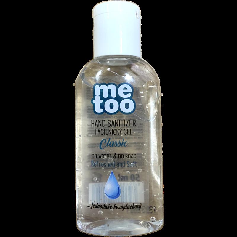 """Dezinfekční gel na ruce """"CLASSIC"""", 66% alkoholu, 50ml, ME TOO"""