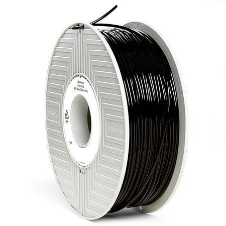 Vlákno ABS pro 3D tiskárny, černá, 2,85 mm, 1kg, VERBATIM