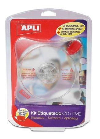 Sada na aplikaci etiket na CD/DVD, APLI