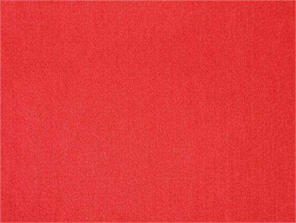 Plst, samolepící, červená, A4