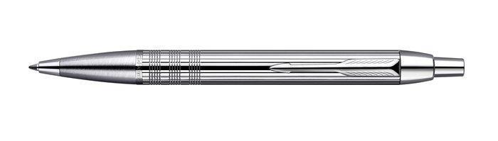 "Kuličkové pero ""I.M. Premium"", lesklé chromované, PARKER"