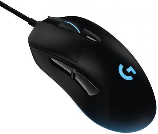 """Herní myš """"G403 Prodigy"""", černá, drátová, optická, USB, LOGITECH"""