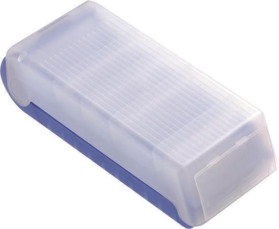 """Box na skladování """"BeeBox"""", modrý transparentní, A8, HELIT"""
