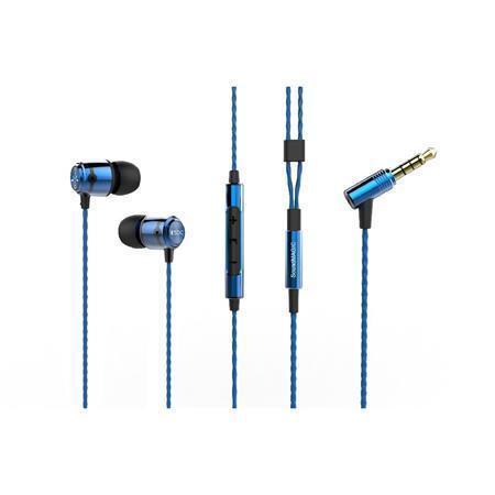 "Sluchátka ""E50"", modrá, SOUNDMAGIC"