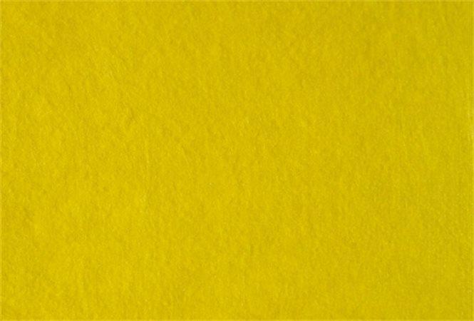 Plst, žlutá, A4