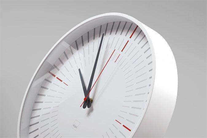 "Nástěnné hodiny ""artetempus®-cana"", bílá, SIGEL"