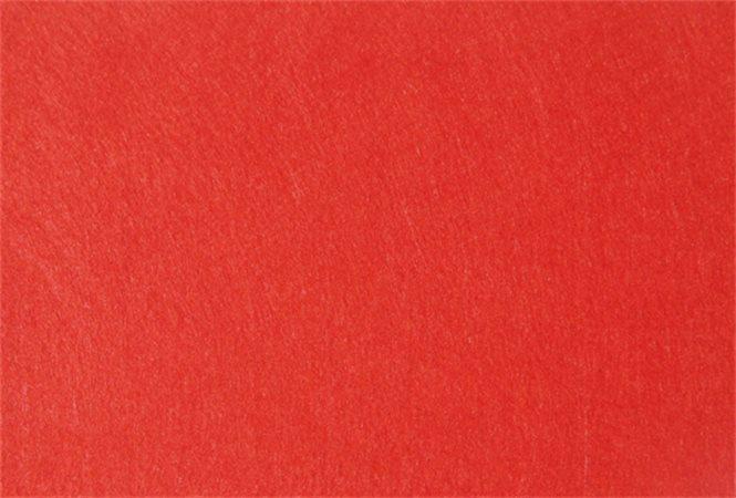Plst, červená, A4, 1 mm