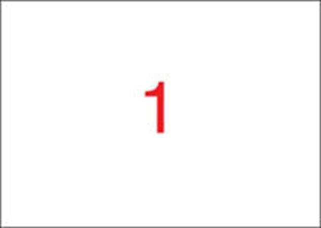 Etiketa, ILC, 210x420 mm, 100 ks/bal., APLI Počet kusů v balení: 100