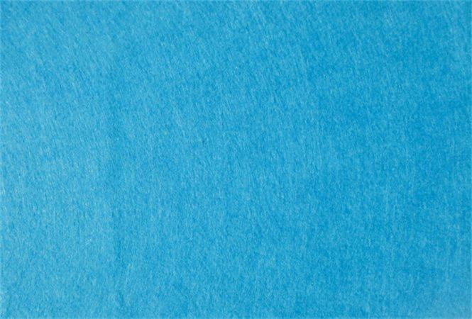 Plst, světle modrá, A4