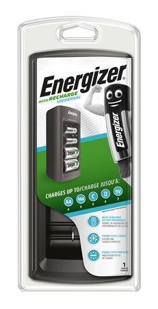 Nabíječka baterií, univerzální, AA/AAA/C/D/9V, ENERGIZER