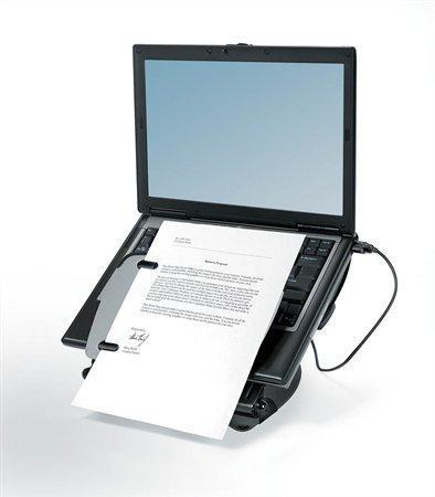 "Stojan na notebook, s USB porty, FELLOWES ""Professional Series Laptop Workstation"""
