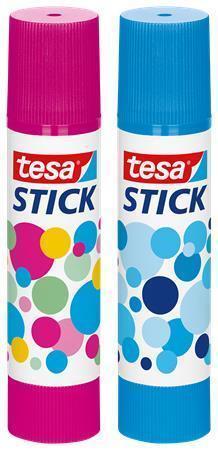 Lepidlo, modrá a růžová, 10 g, TESA