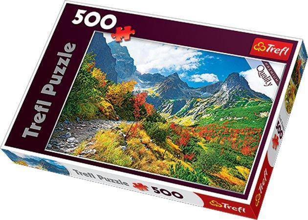 """Puzzle """"Autumn Tatras"""", 500 dílů, TREFL"""