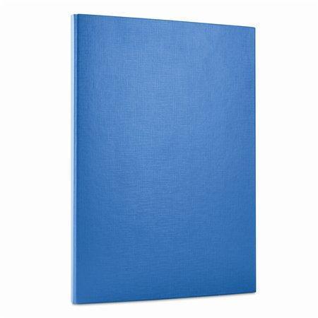 Desky, modrá, zavírání na suchý zip, 15 mm, PP/karton, tvrdé, DONAU