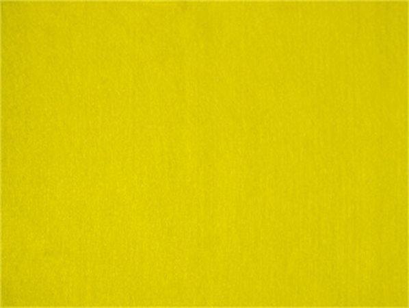 Plst, samolepící, žlutá, A4