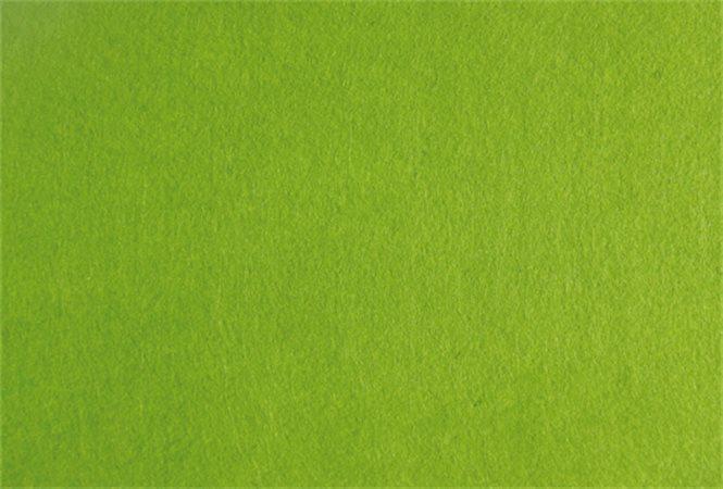Plst, světle zelená, A4, 1 mm