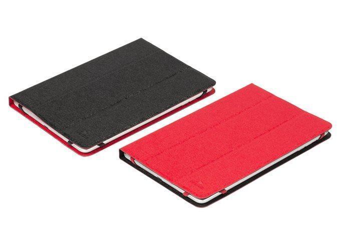 """Pouzdro na tablet """"Malpensa"""" červená/bílá, 7-8"""", RIVACASE"""