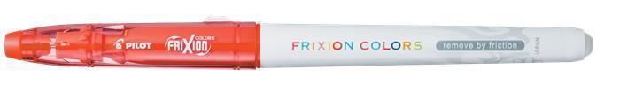 """Fix """"Frixion Colors"""", červená, 0,39-0,7 mm, vymazatelný, PILOT"""