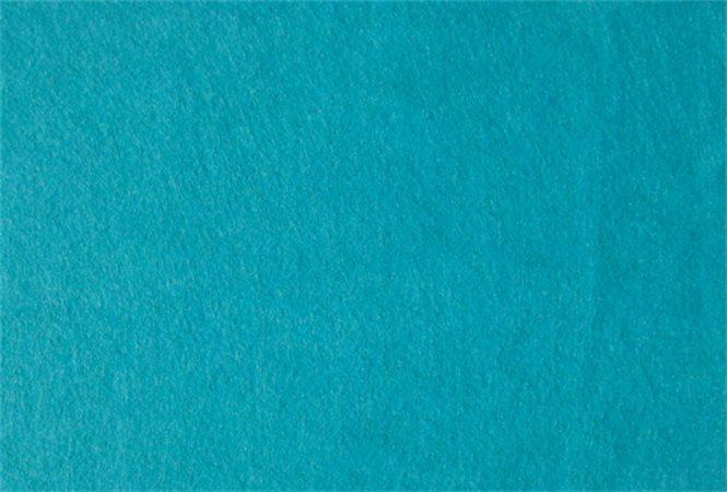 Plst, tyrkysová, A4, 1 mm