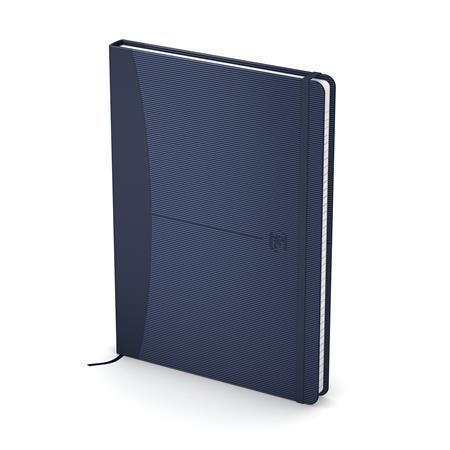 """Exkluzivní zápisník """"Signature"""", modrá, A5, čtverečkovaný, 80 listů, OXFORD"""