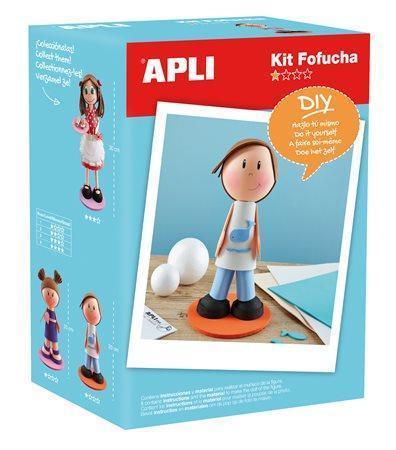 Panenka kreativní sada, APLI, chlapec Počet kusů v balení: 1