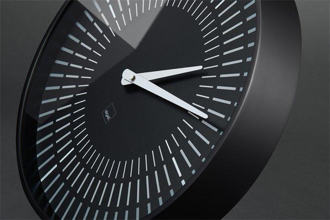 """Nástěnné hodiny """"artetempus®-lox"""", černá, SIGEL"""