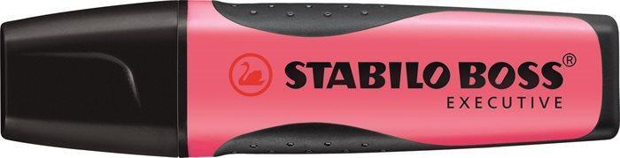 """Zvýrazňovač  """"Boss Executive"""", růžová, 2-5 mm, STABILO"""