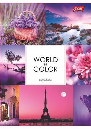 "Sešit ""Colour of life"", A4, linkovaný, 96 listů, UNIPAP"