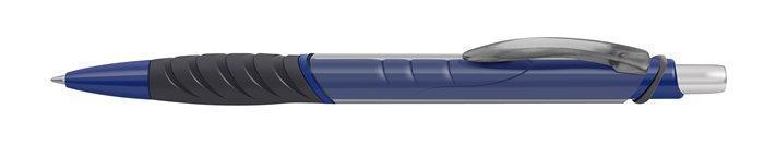 """Kuličkové pero """"Golf Trendy"""", mix barev, 0,7mm, stiskací mechanismus, modrá, ICO Počet kusů v balení: 12"""